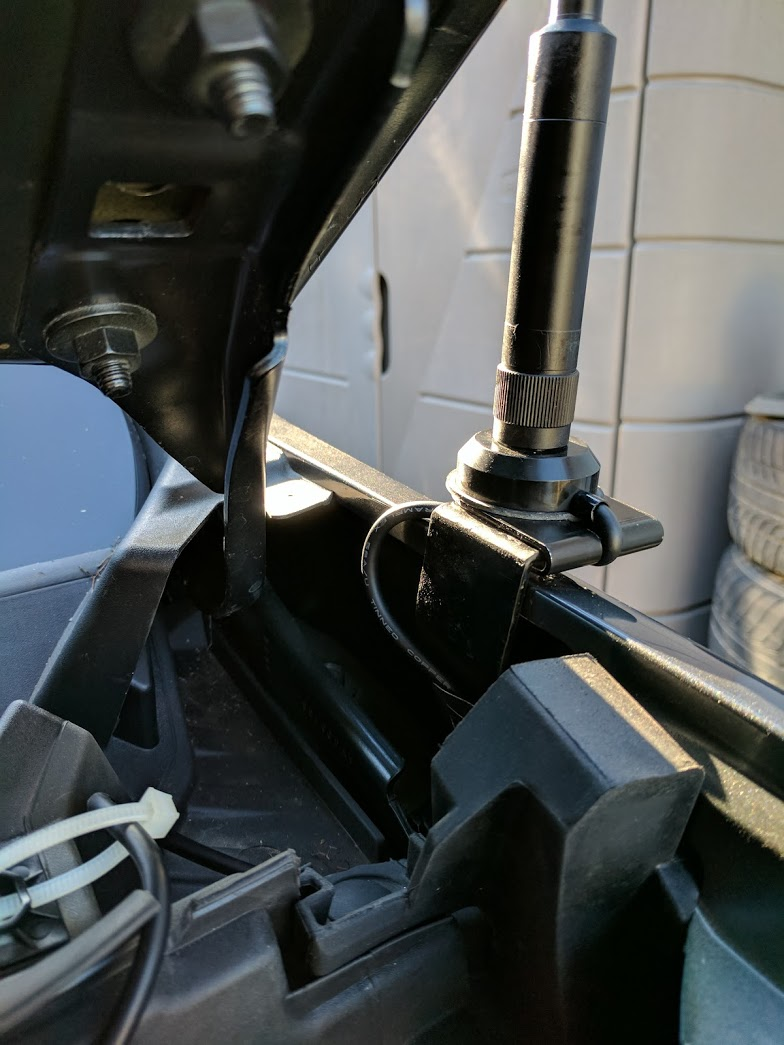 Truck Edge Mobile >> Budget Mobile Ham Radio Install in Chevy Colorado ...