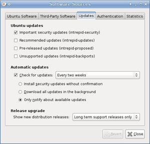 Ubuntu Update