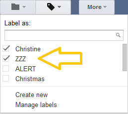 how to add lables to gmail