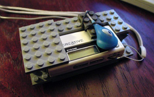 lego mp3 holder thingy