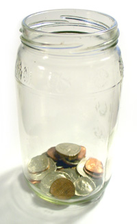 The friend penny jar