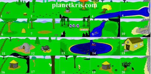 planetkris.com unofficial peasants quest map